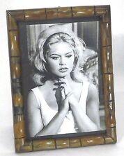 "Frances Stoia Burnished Antique Bamboo Frame 5""x7"""