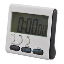Digital Kurzzeitmesser Timer Küchenwecker Stoppuhr Zeitmesser Magnet Eieruhr