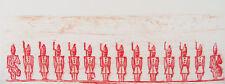 MAX ERNST - LA BALLADE DU SOLDAT XXVII - ORIGINAL LITHOGRAPH 1972 - FREE SHIP US