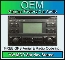 VW MCD Navigation, VW Passat Sat Nav CD player with Map Disc, Code, Removal Keys