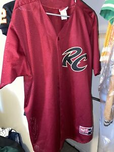 Sacramento RIVER CATS Jersey SF Giants MiLB Baseball RARE Rawlings Sewn Large