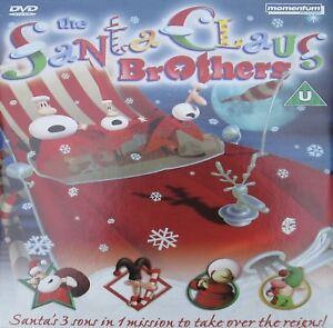 THE SANTA CLAUS BROTHERS DVD CHILDRENS CHRISTMAS ANIMATION