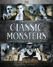 Universal Classic Monsters: Complete 30-Film Collection  - Region A - BLU RAY