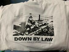 Down By Law Film By Jim Jarmusch Gray T-Shirt *Brand New* +Bonuses Tom Waits