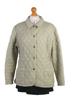 BARBOUR Duracotton Quilt Coat Jacket Vintage Color Beige Chest 46'' BR477