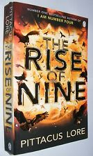 The Rise of Nine by Pittacus Lore PB Lorien Legacies #3 I am Number Four sequel