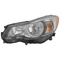 Halogen Headlight for 12-16 Subaru Impreza/13-17 XV Crosstrek Driver Left