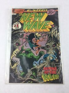 The New Wave #8 30 September 1986 Eclipse Comic Book