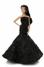 Fashion royalty 2015 Convention  NATALIA Inner Spark Black Ball Gown/heels/jewel