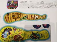Masters of the Universe Snake Mountain decals replacement sticker skeletor castl