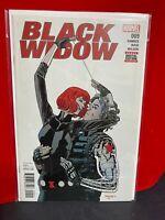 Black Widow #9 Marvel Comics 2017 Avengers Hawkeye Winter Soldier app.