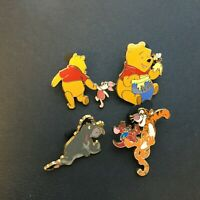 Booster Collection - Winnie the Pooh & Friends - 4 Pin Set Disney Pin 38711
