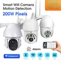 Outdoor Waterproof WiFi PTZ 1080P HD Home Security Wireless IP CCTV IR Camera