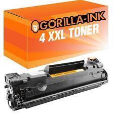4x tóner-cartucho cartucho XXL para HP LaserJet p1102w pro p1101 p1102 ce285a 85a