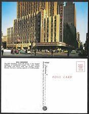 Old Postcard - New York City - RCA Building, Radio City