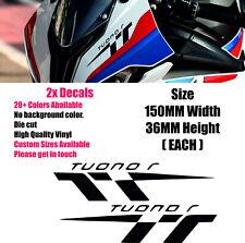 Aprilia Tuono Vinyl Decal Sticker V6 Motorcycle Moto Belly Pan Panel