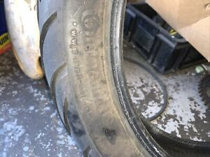 CONTINENTAL CONTIMOTION PART WORN TYRE 160 70 17