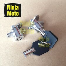 2 KEYS Saddlebag Lock Set for Harley Davidson Touring Electra Glide Road King