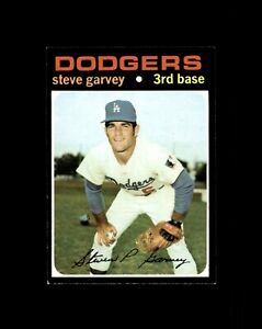 1971 TOPPS #341 STEVE GARVEY DODGERS ROOKIE RC NM+ to NM-MT