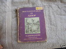 Best Loved Fables AESOP Jacobs Nonsense Alphabets Lear