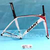 New GIANT TCR Composite Carbon Road Bike Frame Fork Seatpost 700C BB91 500mm