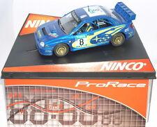 "NINCO 50328 SLOT CAR SUBARU WRC #8 ""NEW ZELANDA'03"" MÄKINEN-LIDSTRÖM PRORACE MB"