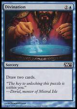 MTG 4x DIVINATION - DIVINAZIONE - M12 - MAGIC