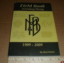 F&M Bank Granite Quarry Salisbury Rockwell Spencer Rowan county NC History book