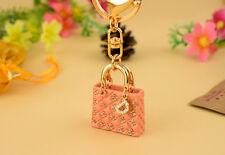 Luxury Crystal Bag Key Ring Accessories