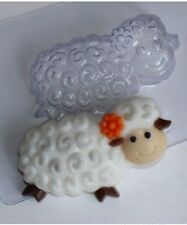 """Lamb"" plastic soap mold soap making mold mould"