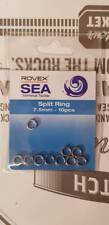 Rovex  Split Ring 7.5mm 10 pieces per packet