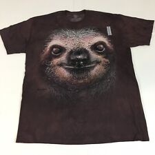 The Mountain Sloth T-Shirt XL Brown USA