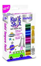 Kwik Stix 6 Metallic Colours, No Mess or Water Paint Stick Pens
