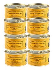 8 x french paté de foie pur porc lou gascoon