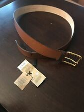 Burberry Men's Trench Leather Roller Buckle Belt Tan Size 40/100 2457809