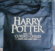 HARRY POTTER AND THE CURSED CHILD LONDON THEATRE BLACK TOTE BAG