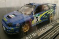 1/43 SUBARU IMPREZA WRC NEW ZELAND RALLY 2001 R. BURNS COCHE METAL ESCALA