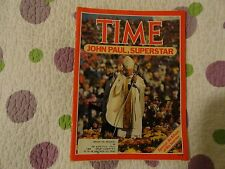 TIME MAGAZINE OCT 15th, 1979 POPE JOHN PAUL SPECIAL: AN ALBUM OF HIS JOURNEY