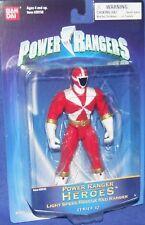 "Power Rangers Lightspeed Rescue 5"" Red Ranger Heroes Series 12 New 2004"