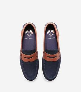 BNEW COLE HAAN Nantucket Loafer mens Shoes, Blazer Blue Size 11
