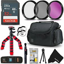 58mm PRO Accessories Kit for f/ Canon EOS Rebel T6