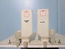 Lot Of 2 Cecilware Gb Series Cappuccino Machine Mixes Brevettato Containers