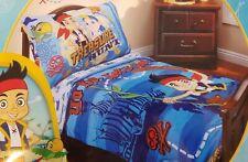 Disney Jake and the Neverland Pirates 4-Piece Toddler Bed Set Fits Crib Mattress