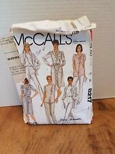 Vintage McCall's Women's Pattern #8217 Q Half Sizes 20 1/2- 24 1/2 UNIFORM CUT