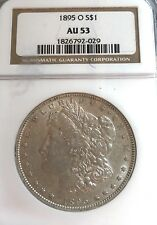 1895-O (New Orleans) Au-53 Ngc Cert. U.S. Morgan Silver Dollar-See Other Dollar