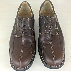 Johnston & Murphy Shuler 20-7223 Leather Bicycle Toe Oxford Shoes Mens 8.5M