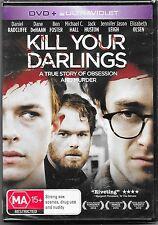 Kill Your Darlings  Dvd (Daniel Radcliffe)New & Sealed Region 4 Free Post