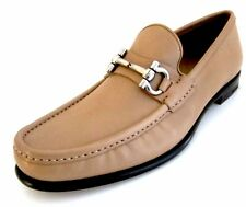 Salvatore Ferragamo Mason leather loafers shoes 8 D(M) US Made in Italy