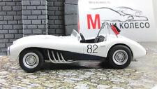 ZIL 112S Racing car AutoLegends USSR 1962 Diecast Metal model 1:43 Deagostini