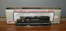 Atlas Mater Silver HO Scale Custom GP40-2 Eastern #708 Diesel Locomotive